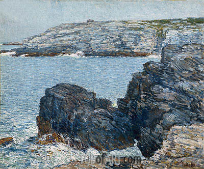 Headlands, 1908 | Hassam | Gemälde Reproduktion