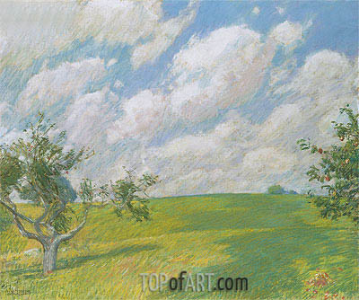 Hassam | September Clouds, 1891