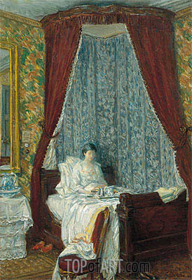 Hassam | The French Breakfast, 1910
