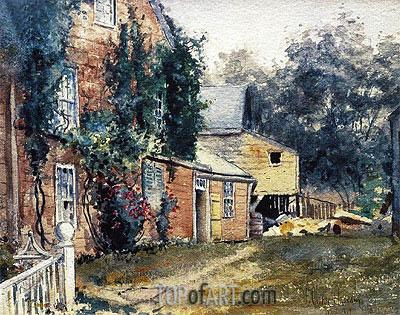 Hassam | Old House, Nantucket, c.1882