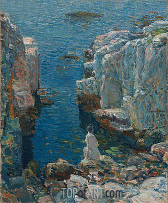 Isles of Shoals, 1912 | Hassam| Painting Reproduction