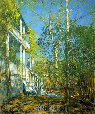 Summer at Cos Cob, 1902 | Hassam| Painting Reproduction