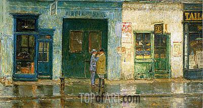 Hassam | Little Cobbler's Shop, 1912