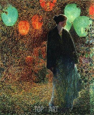 Hassam | July Night, 1898