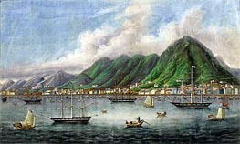 Victoria Island, Hong Kong | Chinese School | Painting Reproduction