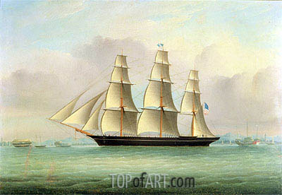 A Sea Witch Clipper, undated | Chinese School | Painting Reproduction