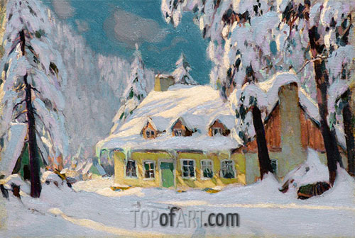 After the Storm, c.1922 | Clarence Gagnon | Painting Reproduction