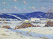 In the Laurentians, Winter | Clarence Gagnon