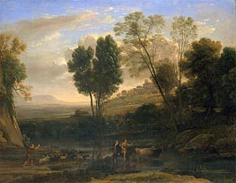Sunrise | Claude Lorrain | Painting Reproduction