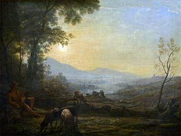 The Herdsman, undated by Claude Lorrain | Painting Reproduction