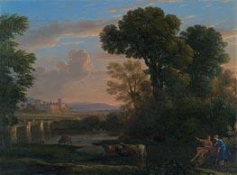 Pastoral Landscape | Claude Lorrain | Gemälde Reproduktion