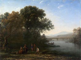 The Ford | Claude Lorrain | Gemälde Reproduktion
