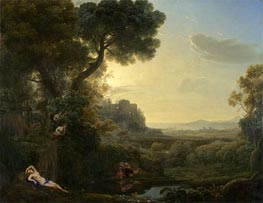 Landscape with Narcissus and Echo | Claude Lorrain | veraltet