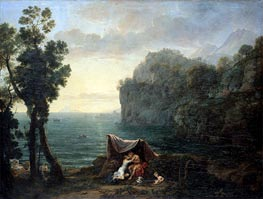 Landscape with Acis and Galatea | Claude Lorrain | Painting Reproduction
