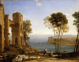 Coast View with Apollo and the Cumaean Sibyl | Claude Lorrain | veraltet