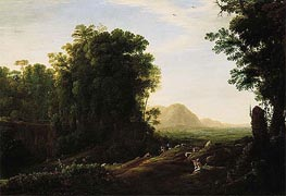 Landscape with a Piping Shepherd | Claude Lorrain | veraltet