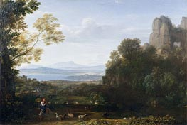 Landscape with Apollo and Mercury | Claude Lorrain | veraltet