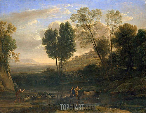 Sunrise, c.1646/47 | Claude Lorrain| Painting Reproduction