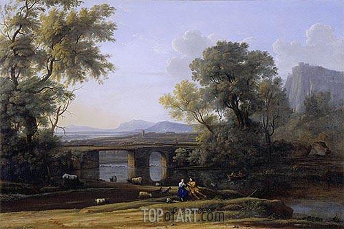 Claude Lorrain | Pastoral Landscape, undated