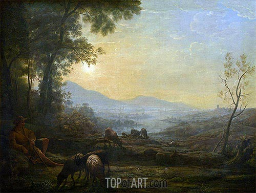 The Herdsman, undated | Claude Lorrain| Painting Reproduction