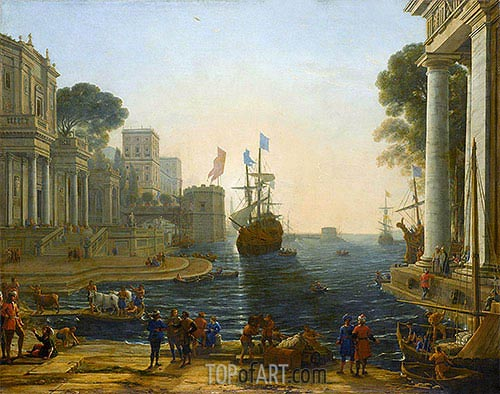 Ulysses Returns Chryseis to Her Father, c.1644 | Claude Lorrain | Painting Reproduction