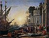 Cleopatra Disembarking at Tarsus | Claude Lorrain
