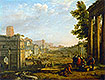 View of the Campo Vacino | Claude Lorrain