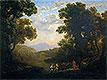 Fording a River | Claude Lorrain