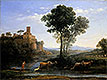 Landscape with the Voyage of Jacob | Claude Lorrain