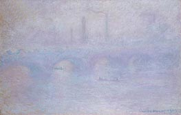 Waterloo Bridge, Effect of Fog | Monet | outdated
