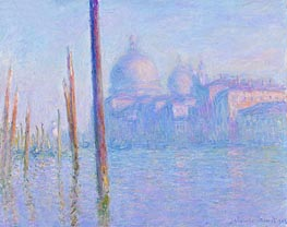 The Grand Canal, Venice, 1908 by Monet | Painting Reproduction