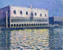 The Doge's Palace (Le Palais ducal) | Monet | Painting Reproduction