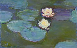 Water Lilies, c.1897/98 by Monet | Painting Reproduction