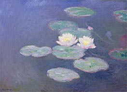 Water Lilies, Evening Effect | Monet | outdated