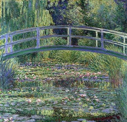 Water Lily Pond, (Symphony in Green) | Monet | outdated