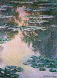 Water Lily Pond, 1907 von Monet | Gemälde-Reproduktion