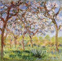 Spring at Giverny, 1900 von Monet | Gemälde-Reproduktion
