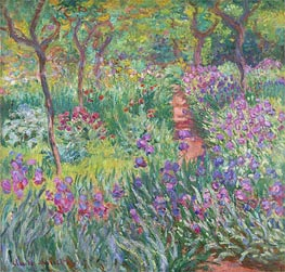 The Artist's Garden at Giverny, 1900 von Monet | Gemälde-Reproduktion