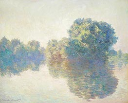 The Seine at Giverny, 1897 von Monet | Gemälde-Reproduktion