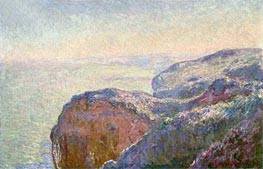 At the Val Saint-Nicolas, near Diepper, Morning, 1897 von Monet | Gemälde-Reproduktion
