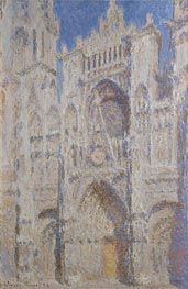 Rouen Cathedral: The Portal (Sunlight), 1894 by Monet | Painting Reproduction