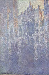Rouen Cathedral, The Portal, Morning Fog | Monet | Gemälde Reproduktion