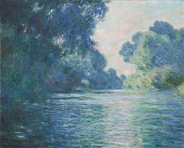 Branch of the Seine near Giverny, 1897 by Monet | Painting Reproduction