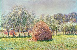 Haystacks, 1893 by Monet | Painting Reproduction