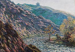 The Petite Creuse River (The Old Tree at the Confluence), 1889 by Monet | Painting Reproduction