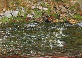 Rapids on the Petite Creuse at Fresselines, 1889 by Monet | Painting Reproduction