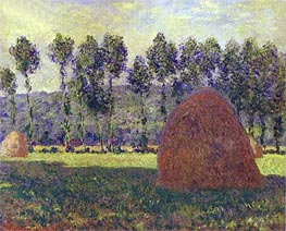 Haystacks at Giverny | Monet | Gemälde Reproduktion