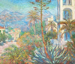 Villas at Bordighera | Monet | Gemälde Reproduktion