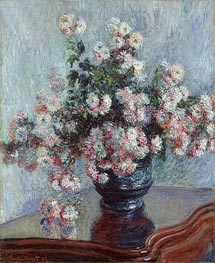 Chrysanthemums | Monet | Gemälde Reproduktion