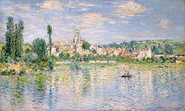 Vetheuil in Summer, 1880 by Monet | Painting Reproduction